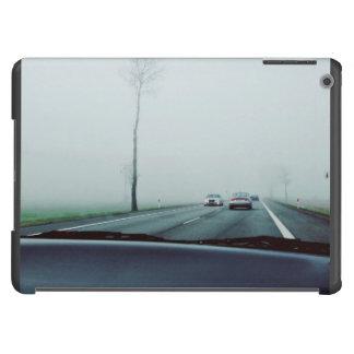 Transporte temático, visión a través del tablero funda para iPad air
