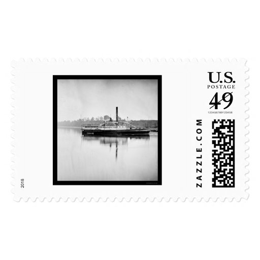 Transporte Washington Irving 1865 de USS Franqueo