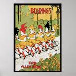 Transportes, anuncio 1896 de Nouveau del arte de l Poster