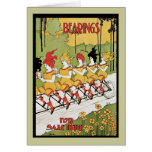 Transportes, anuncio 1896 de Nouveau del arte de l Tarjeta