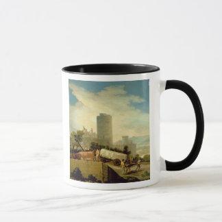 Transporting a Stone Block, 1786-87 Mug