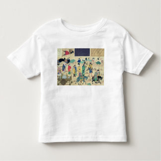 Transporting ceramics toddler t-shirt
