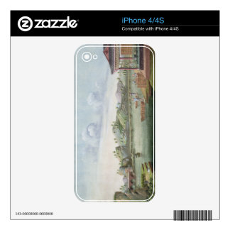 Transporting crates of tea (w/c on paper) skin for iPhone 4S