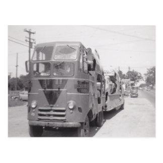 Transportistas 1951 del coche de la postal OTR tem