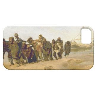 Transportistas de la gabarra en el Volga por Ilya iPhone 5 Fundas