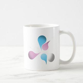 TRANSSEXUAL PRIDE BURST CLASSIC WHITE COFFEE MUG