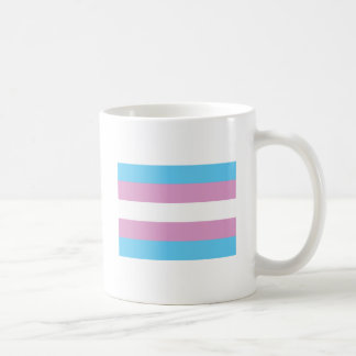 Transsexual Pride Flag Classic White Coffee Mug