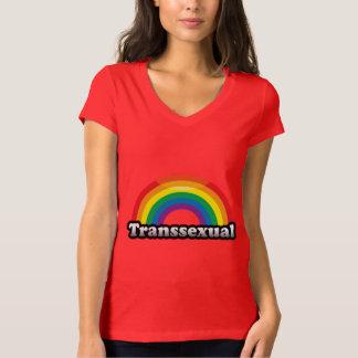 TRANSSEXUAL PRIDE RAINBOW T SHIRT