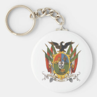 Transvaal Coat of Arms, South Africa: Pre-Boer War Keychain