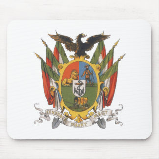Transvaal Coat of Arms, South Africa: Pre-Boer War Mouse Pad