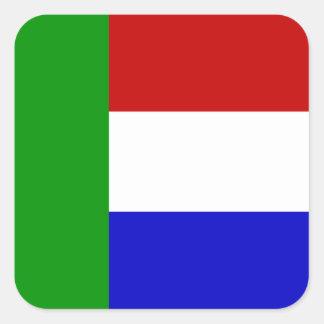 Transvaal Square Sticker
