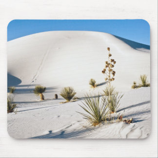 Transverse Dunes and Soaptree Yucca 2 Mouse Pad