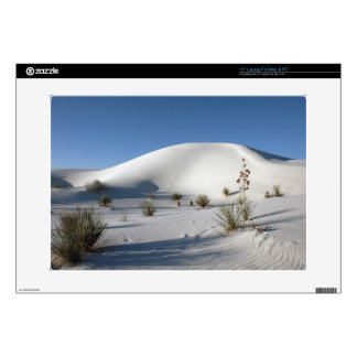 Transverse Dunes and Soaptree Yucca Decals For Laptops