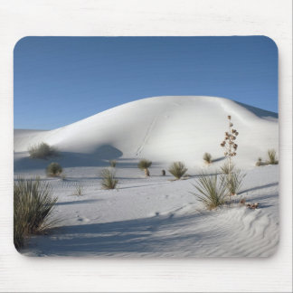 Transverse Dunes and Soaptree Yucca Mouse Pad