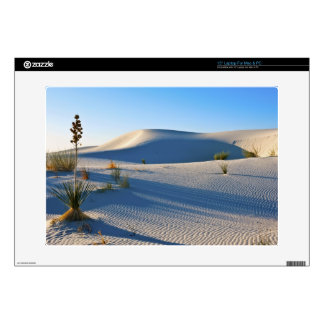 Transverse Dunes, Yucca, Early Morning Light Decals For Laptops