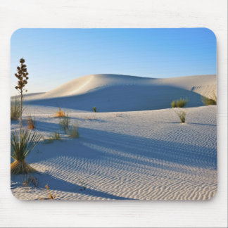 Transverse Dunes, Yucca, Early Morning Light Mouse Pad