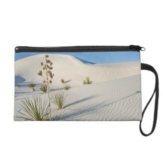 Transverse Dunes, Yucca, shadows Wristlet