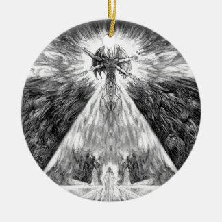 Transversion Of Worlds Ceramic Ornament