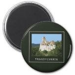 Transylvania Bran Castle Fridge Magnets