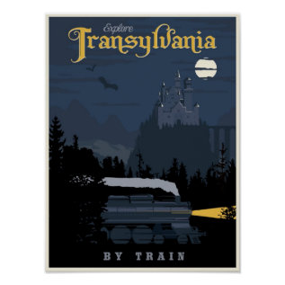Transylvania By Train Travel Poster at Zazzle