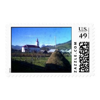 Transylvania  church postage