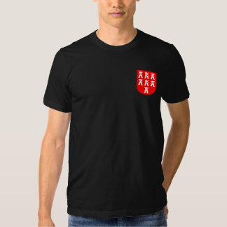 Transylvania coat of arms red white t shirt