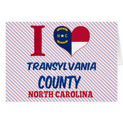 Transylvania County, North Carolina Greeting Card