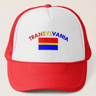 Transylvania Flag Design 2 (w/inscription) Trucker Hat