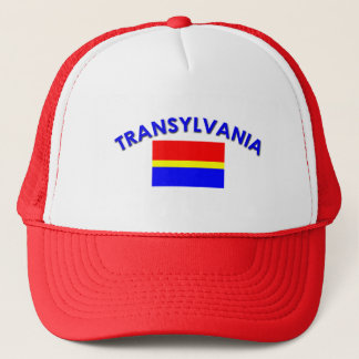 Transylvania Flag (w/inscription) Trucker Hat