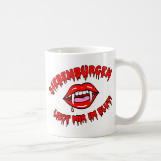 Transylvania - is appropriate for me in the blood coffee mug