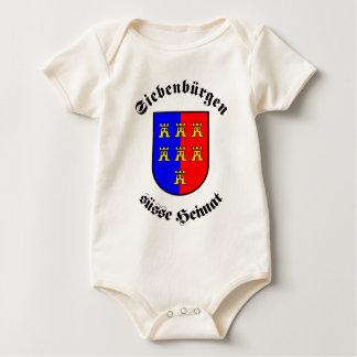 Transylvania sweet homeland baby bodysuit