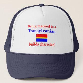 Transylvanian Builds Character Trucker Hat