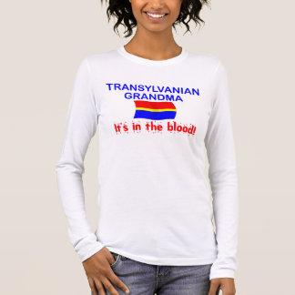 Transylvanian Grandma - Blood Long Sleeve T-Shirt