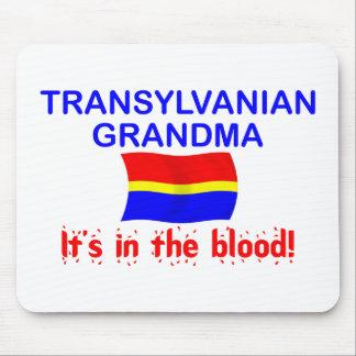 Transylvanian Grandma - Blood Mouse Pad