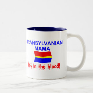 Transylvanian Mama - Blood Two-Tone Coffee Mug