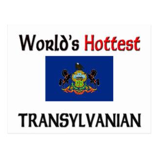 Transylvanian más caliente del mundo postal