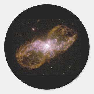 Trantula Nebula Classic Round Sticker