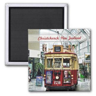 Tranvía Christchurch, imán del viaje de la ciudad