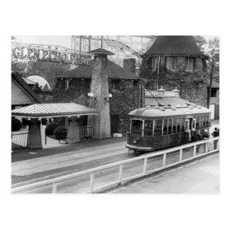 Tranvía de Juan de la cabina, los años 30 Tarjeta Postal