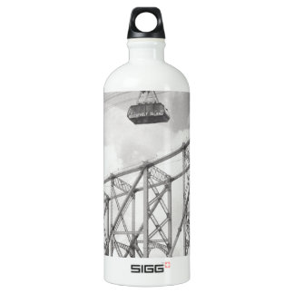 Tranvía de la isla de Roosevelt, NYC, foto análoga Botella De Agua
