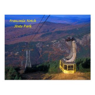 Tranvía de la montaña del cañón muesca de Francon Tarjeta Postal