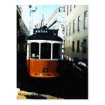 Tranvía de Lisboa Tarjetas Postales