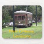 Tranvía de New Orleans Alfombrilla De Raton