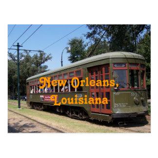 Tranvía de New Orleans Luisiana Postales