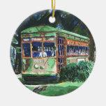 Tranvía de New Orleans Ornamento De Reyes Magos