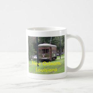 Tranvía de New Orleans Taza De Café