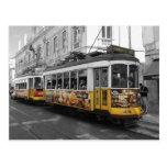 Tranvía el 28% el pipe% Electrico 28 Lisboa de Tarjeta Postal