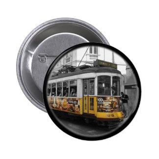 Tranvía el 28% el pipe% Eletrico 28 Lisboa de Pin Redondo De 2 Pulgadas