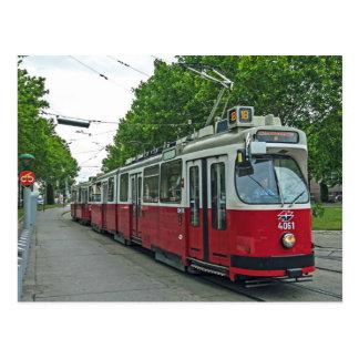 Tranvía eléctrico 2014 de Viena Postales