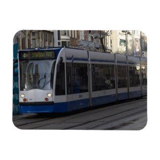Tranvía en Amsterdam Imanes